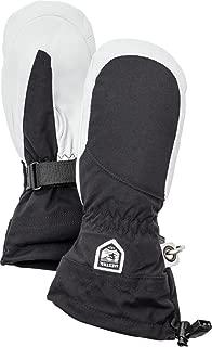 Hestra Womens Extra Warm Ski Gloves: Heli Leather Winter Cold Weather Powder Mitten