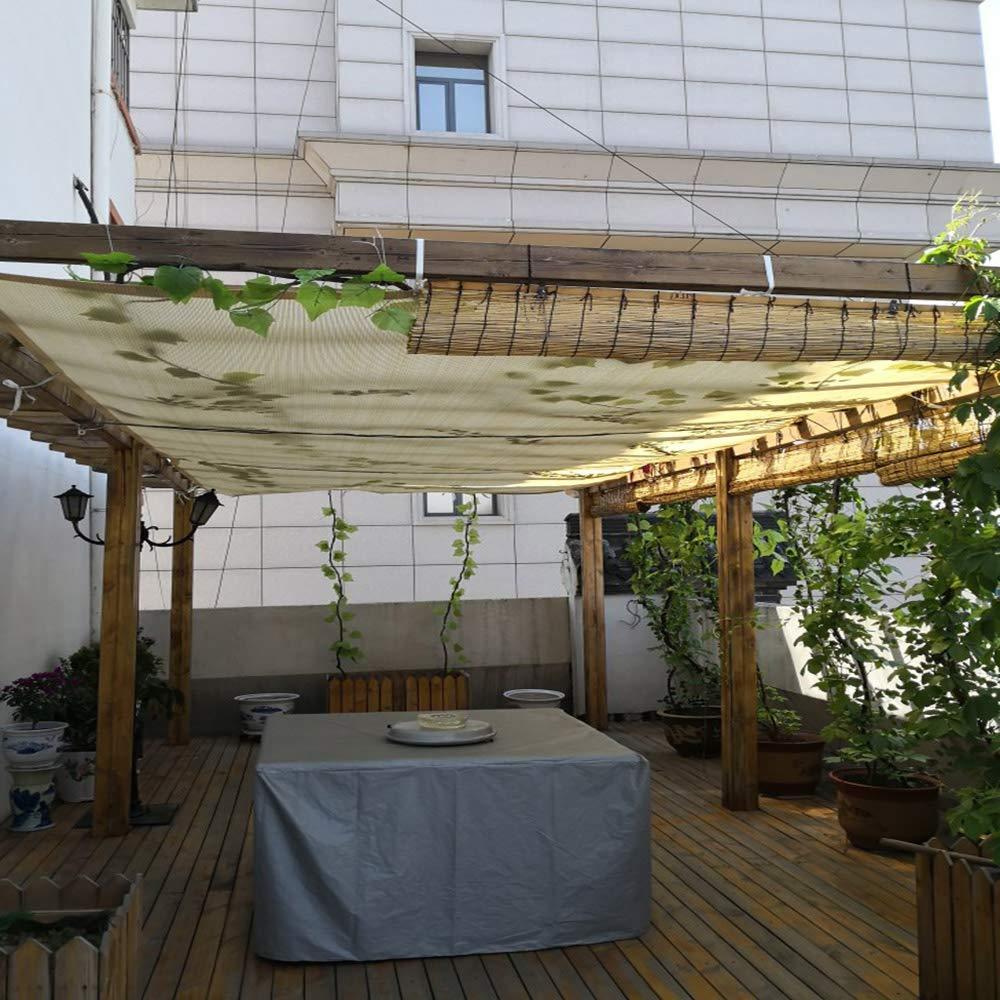 Vela De Sombra Protector Solar RectáNgulo Beige, 90% Tela De Sombra\Vela Toldo De TamañO Completo, Parabrisas De JardíN,Se Puede Usar para La Privacidad De La Casa De Animales: Amazon.es: Hogar