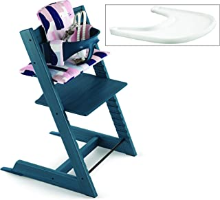 Best white and blue high chair Reviews