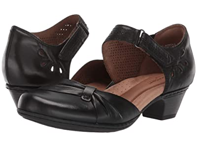 Rockport Cobb Hill Collection Abbott Two-Piece Bow (Black) Women
