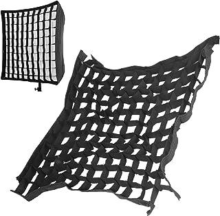 """Softbox Honeycomb Grid, Square 60x60cm 23,6""""Softbox Cellular Grid Mesh Bärbar Fällbar för Fotografering Studio Tillbehör"""
