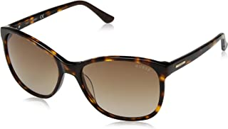 Guess Women's Fashion Sun GU 7426 52F Sunglasses, Brown Gradient, 58 mm