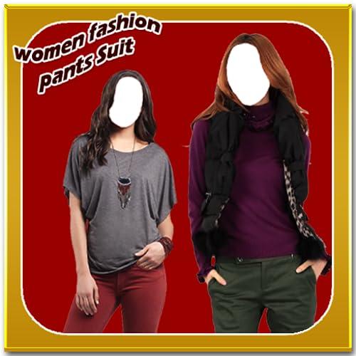 Women Fashion Pants Suit New