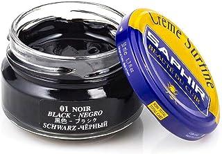 Saphir Creme Surfine Cream Shoe Polish Black 50ml