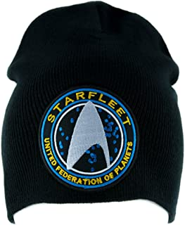 Starfleet Enterprise Star Trek Beanie Alternative Style Clothing Knit Cap Cosplay