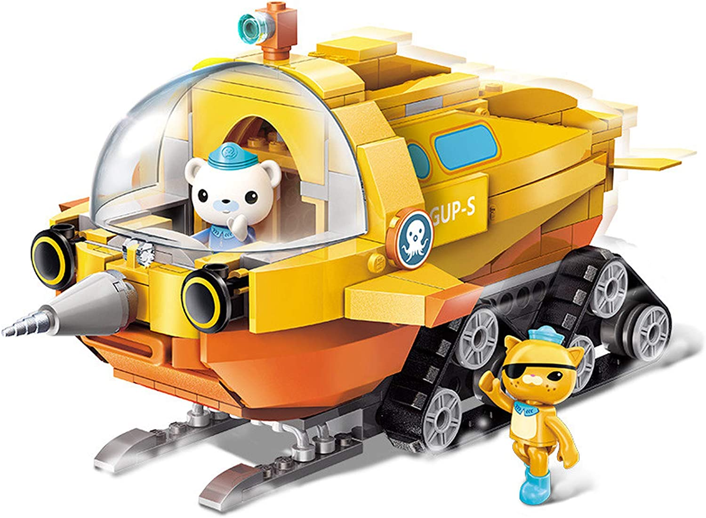 Qman Kids Building Blocks Educational Toys Octonauts GUP-K Vehicle Bricks 330PCS