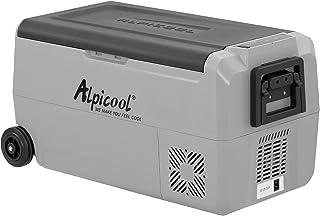 Alpicool Dual Temperature Control T36 Portable Refrigerator 38 Quart(36 Liter) Compact Fridge Mini Freezer for Travel,Camp...