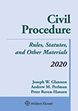 Civil Procedure: Rules, Statutes, and Other Materials, 2020 Supplement (Supplements) PDF