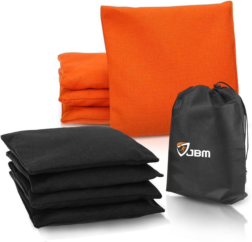 In a popularity JBM Cornhole Bean Bags Set of Duck 8 New item Canvas Resistant Weather