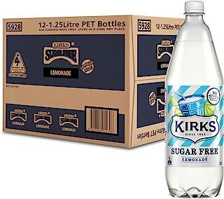 Kirks Sugar Free Lemonade 1.25L x 12