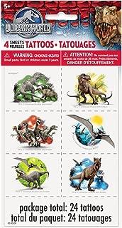 Jurassic World Temporary Tattoos, 24ct