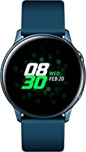 SAMSUNG Galaxy Watch Active (40MM, GPS, Bluetooth) Smart Watch with Fitness Tracking, and Sleep Analysis - Green - (US Ver...