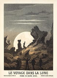 La Voyage Dans La Lune Poster