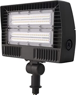 ELECALL LED Flood Light, 50W/5700Lumen, 5000K, Waterproof, IP65, 120-277V, ETL-Listed