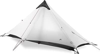 3F UL Gear 2018 Lancer1 1 Person Oudoor Ultralight Camping Tent 3 Season Professional 15D Silnylon Rodless Tent