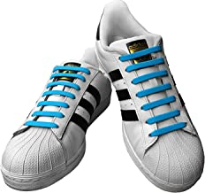 No Tie Shoelaces for Kids & Adults. Elastic & Silicone Shoe Laces to Replace Your Shoe Strings. Makes Any Sneaker a Quick, Comfy Slip On