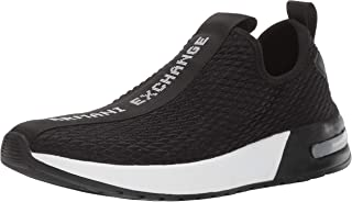 A|X Armani Exchange Men's Mesh Low Rise Sneaker