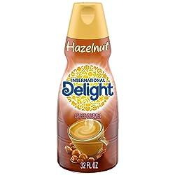 International Delight Hazelnut Coffee Creamer, Quart, 32 oz