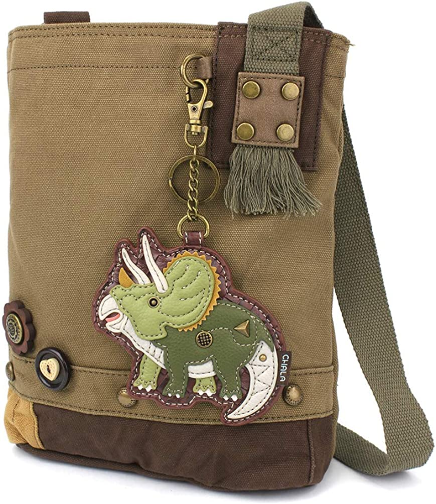 Chala security Max 61% OFF Handbags Brown Olive Canvas Patch Messenger Bag Cross-body