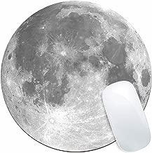 Luna alfombrilla de ratón forma redonda, dinowin (220 mm x 220 mm x 3 mm) de alta calidad almohadilla de ratón, diseño de hada: alfombrilla de ratón para niños, niñas ratón alfombrillas, hada Regalos