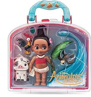 Disney Animators' Collection Moana Mini Doll Play Set - 5 Inch