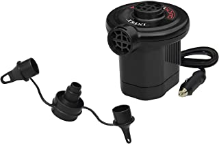 Intex Quick-Fill DC Electric Air Pump, 12V Car Plug, Max. Air Flow 21.2CFM
