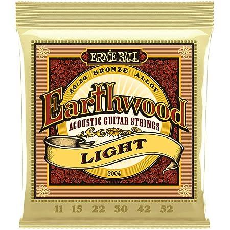 【正規品】 ERNIE BALL 2004 アコースティックギター弦 (11-52) EARTHWOOD 80/20 BRONZE LIGHT