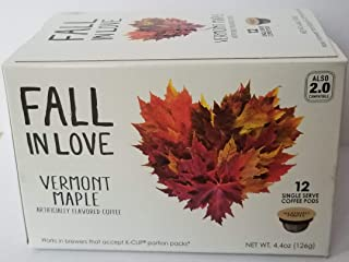 Vermont Maple Coffee - 12 Single Serve K-CUP Pods