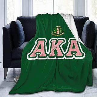 alpha kappa alpha blanket