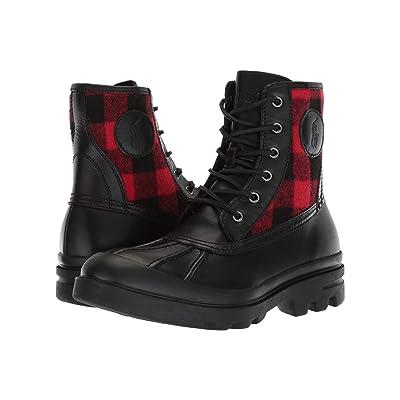 Polo Ralph Lauren Udel (Black/Black/Red) Men