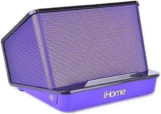 iHome iHM27UC Portable Recharge Speaker Purp photo