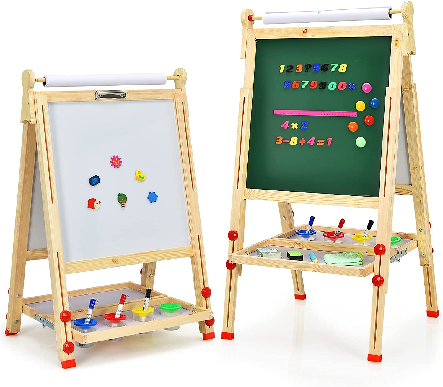 Mayjooy Art Dallas Mall Easel for Kids Double-Sided w Cash special price Wooden Toddler
