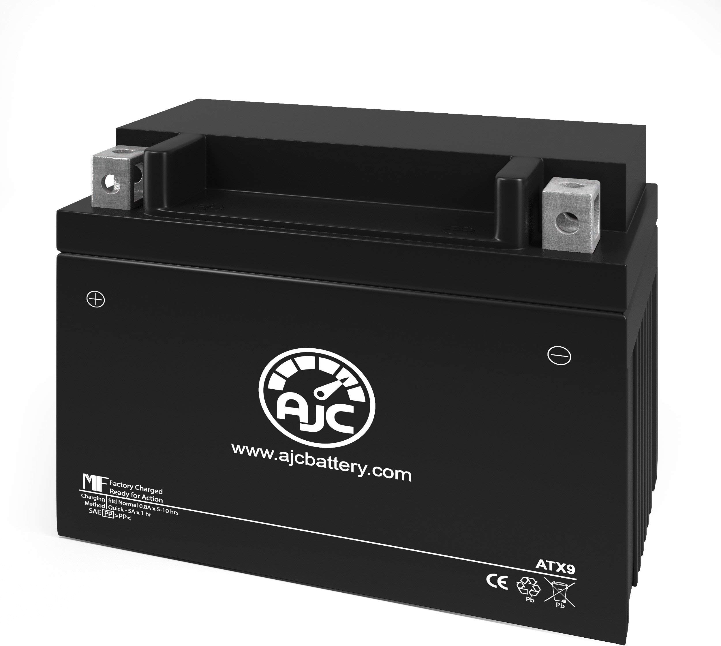 Yamaha XVS95CT Y V Star 950 Tourer 950CC Motorcycle Replacement Battery (2009-2017) - This is an AJC Brand Replacement