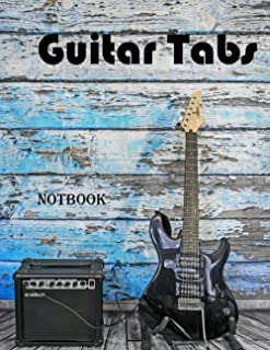 Guitar Tabs not book: Guitar Music Tabs Journal For Saving All Your Hit Songs . Ultimate Guitar Reference Includes Fretboa...