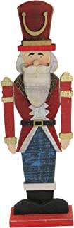 """Northlight Painted Wooden Standing Led Nutcracker, 21"""", Gold"""