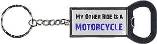 Graphics and More Ring Bottlecap Opener 钥匙扣,My Other Ride 汽车汽车是摩托车 (KK0494)