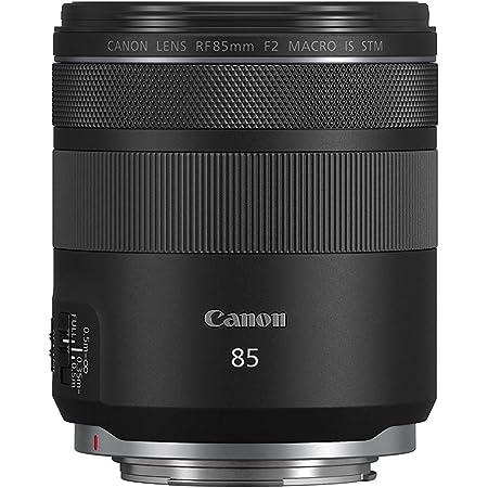 Canon RF 85mm F2 Macro is STM, Compact Medium-Telephoto Black Lens (4234C002)
