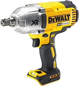 Dewalt DCF899N-XJ DCF899N High Torque Impact Wrench 18V Cordless Brushless  Body Only   Yellow Black  Bare Unit