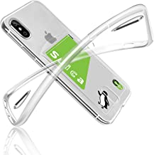iPhone Case, Clear, Shockproof, Fogeek iPhonex Case, Soft TPU Card Case, Clear, Shock Absorption, Drop Protection, Ultra Flimsy, Clear