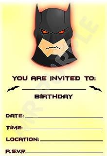 Amazon Es Batman Invitaciones Artículos De Fiesta