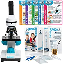 JuniorScope Microscope for Kids Microscope Science Kits for Kids Science Experiment Kits