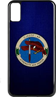 Apple iPhone X Case -US Joint Special Ops Task Force-Arabian (CJSOTF-AP)