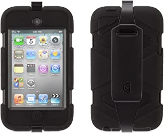 Griffin Black Heavy Duty Survivor All-Terrain Case for iPod Touch 4th Gen. - Extreme-Duty case for 4th gen. iPod Touch