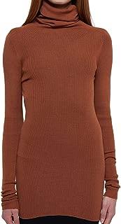 RICK OWENS Luxury Fashion Womens RP19F5614RIBM173 Orange Top | Fall Winter 19