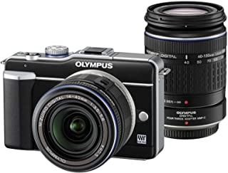 DASFOND P20L Kompakte Systemkameras Double Zoom Kit (EZ M1442L schwarz & EZ4015 2 schwarz) Transparent