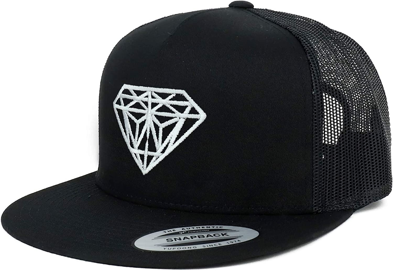 Armycrew Flexfit White Diamond Manufacturer OFFicial shop Embroidered Snap Panel 5 Flatbill online shopping