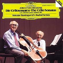 Brahms: Sonatas For Clo & Pno Nos.1 & 2