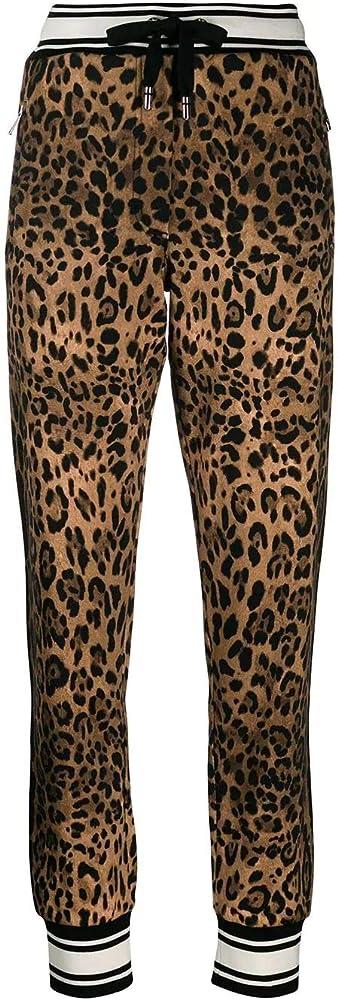 Dolce & gabbana luxury fashion,joggers ,pantaloni per donna,100% cotone FTBJ7THH780HHERM