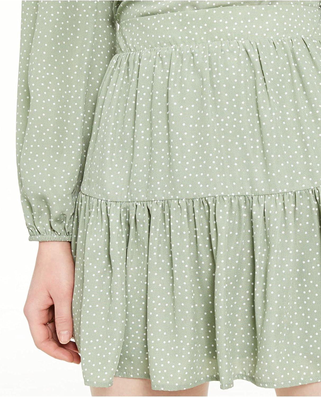 Sage The Label Womens Mini Ruffles Flounce Skirt