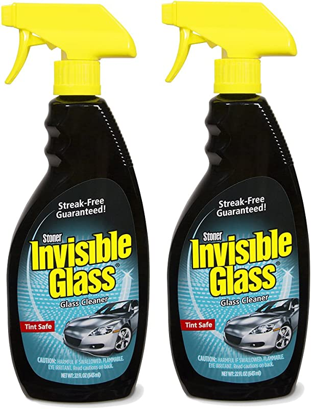 Invisible Glass 92164 2PK Premium Glass Cleaner 22 Ounce Bottle Case Of 2 44 Fluid Pack